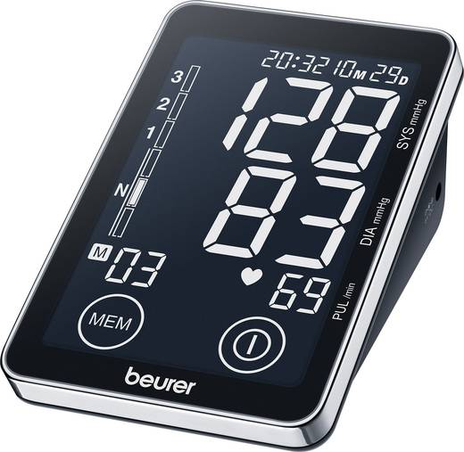 Digitális felkaros vérnyomásmérő, Beurer BM 58, 655.16