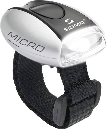 LED biztonsági fény, ezüst/fehér, Micro