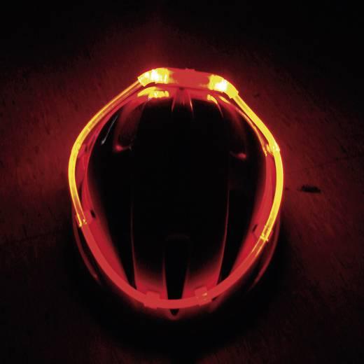 UP-4CAO Kerékpár sisakra rakható világító fényszalag, sisak jelzőfény