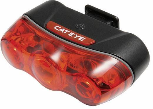 LED-es kerékpár hátsó lámpa, piros/fekete, Cateye
