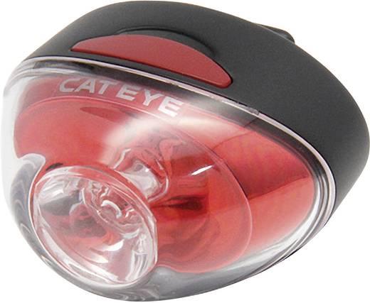 LED-es kerékpár hátsó lámpa, akkus, piros/fekete, Cateye TL-LD611R