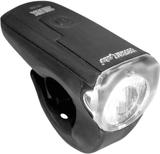 LED-es kerékpár első lámpa, fekete, Security Plus 0200