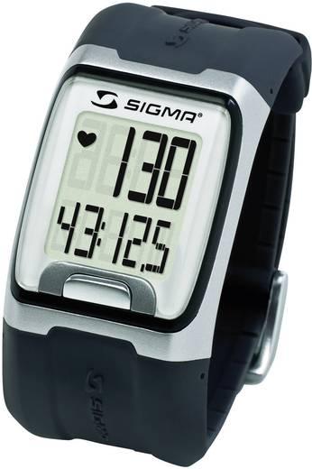 Pulzusmérő karóra, fitnesz és sportóra fekete Sigma PC 3.11