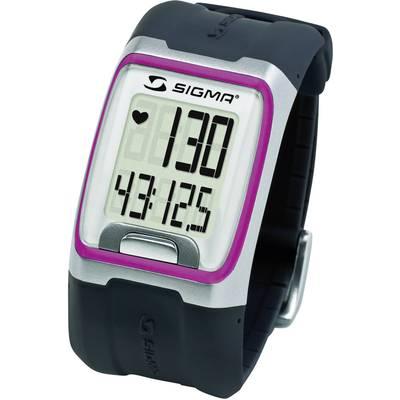 Pulzusmérő karóra fitnesz és sportóra pink Sigma PC 3.11