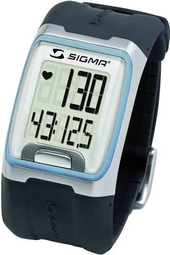 Pulzusmérő karóra, fitnesz és sportóra kék Sigma PC 3.11