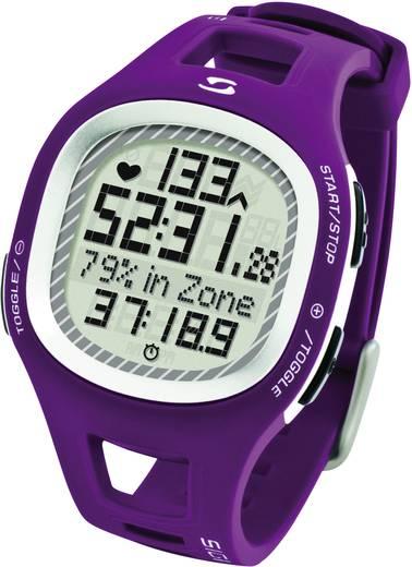 Pulzusmérő karóra, fitnesz és sportóra lila Sigma PC 10.11