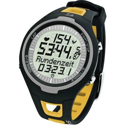 Pulzusmérő karóra fitnesz és sportóra sárga Sigma PC 15.11