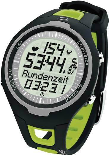 Pulzusmérő karóra, fitnesz és sportóra zöld Sigma PC 15.11