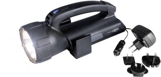 Akkus kézi fényszóró ASN 15HD plus 5102143-510 Halogén 6 V, 20 W/ 4 LED 6 óra halogén, 200 óra LED Fekete