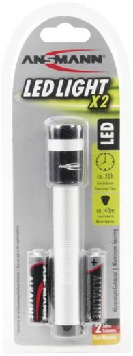 LED-es zseblámpa, 20 óra, ezüst, Ansmann X2 5816483-510