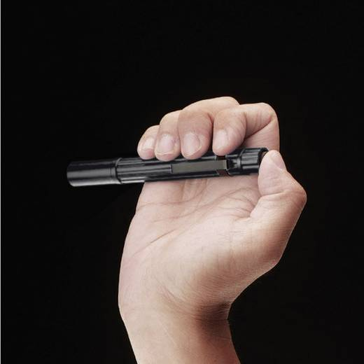 LED-es toll lámpa, Nichia LED, 2,5 óra, 49 g, fekete, LiteXpress Pen Power 101 LX404071