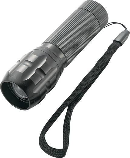 LED-es zseblámpa, High-Power LED, 120 g, fekete, Conrad 868531