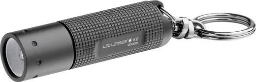 LED-es kulcstartós zseblámpa, 6 óra, 20 g, fekete, LED LENSER K2 8252