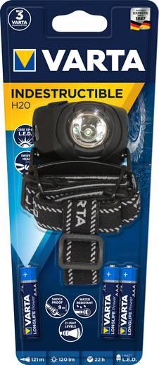 LED-es fejlámpa, 1 W Cree XPC Q5 cool fehér LED, 3 óra, fekete, VARTA 17731101421