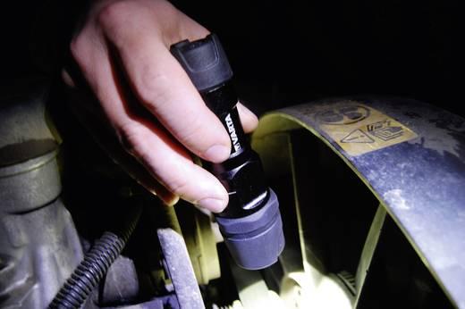 LED-es kézilámpa, 1 W Cree XPC Q5 cool fehér LED, 38 óra, fekete, VARTA 18702101421