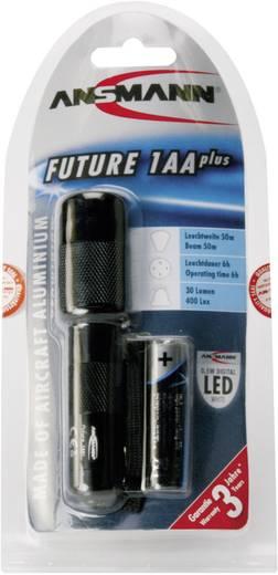 LED-es zseblámpa, 6 óra, 70 g, fekete, Ansmann Future 1 AA plus 5816603-510