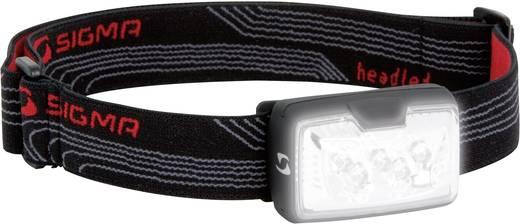 LED-es fejlámpa, 60 óra, fekete, Sigma 17050