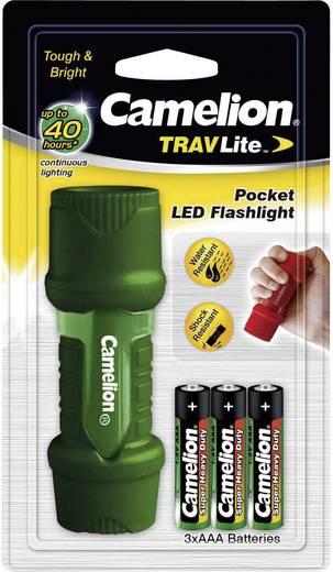 LED-es zseblámpa, zöld vagy piros, Camelion Travellite HP7011