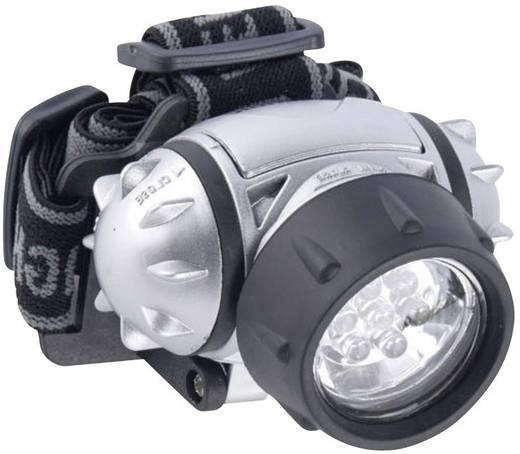 LED-es fejlámpa, 7 LED, ezüst, Grundig 38962