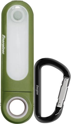 Karabineres LED-es kézilámpa, fehér LED, 5,2 óra, sötétzöld, Energizer Multi-Use-Light 636637