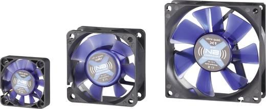 Számítógép ventilátor, 4 cm, Noiseblocker BlackSilentFan XM1
