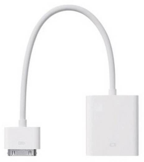 Apple VGA adapter iPhone iPad iPod 30 pólusú dugóról VGA-ra átalakító MC552ZM/B