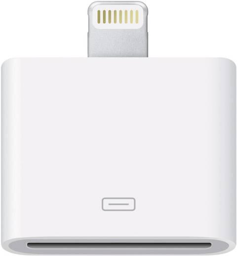 Apple Lightning - 30 tűs adapter átalakító iPhone iPad iPod csatlakozókhoz, fehér MD823ZM/A