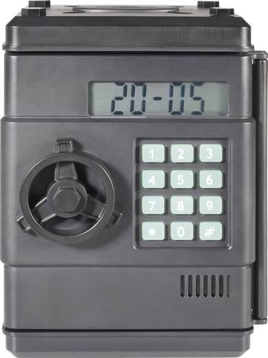 Tresor digitális érme számlálóval, 113 x 95 x 83 mm, fekete, TM-5212