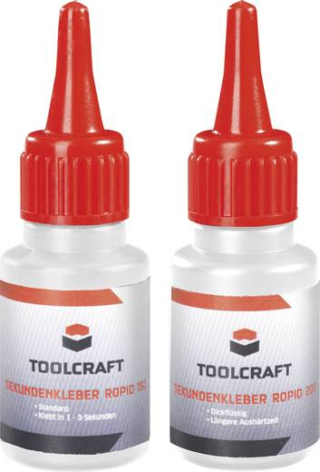Pillanatragasztó készlet, TOOLCRAFT ROPID 150 & ROPID 200