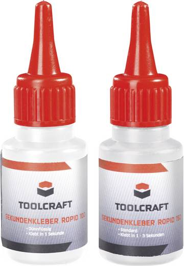 Pillanatragasztó készlet, TOOLCRAFT ROPID 100 & ROPID 150