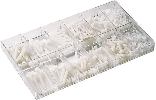 420 részes. Poliamid hengerfej csavar készlet