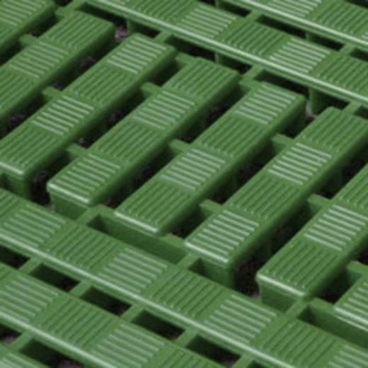 WORKDECK PADLÓRÁCS SAROKELEM; zöld (4) 112 x 112 mm