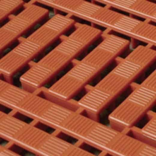 WORKDECK PADLÓRÁCS SAROKELEM; narancs (4) 112 x 112 mm