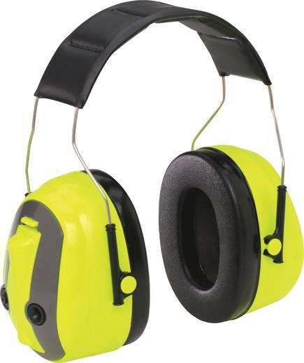 Fejpántos, kapszulás hallásvédő fültok, Ki/Be kapcsolható hangáteresztő fülvédő PELTOR Push-To-Listen MT155H530A 489-GB