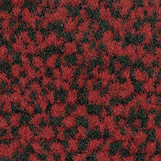 Védőszőnyeg, fekete/piros , 1.5x0.9 m, VYNA PLUSH
