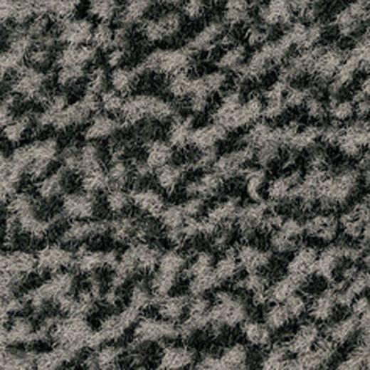 Védőszőnyeg, fekete/szürke , 0.9x0.6 m, VYNA PLUSH