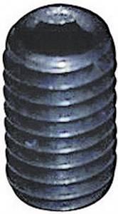 Belső kulcsnyílású hernyócsavar, M4 x 8 mm, DIN 913, fekete, 20 db Toolcraft 886284 TOOLCRAFT