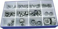 Toolcraft önbiztosító anya szortiment DIN 985 161 db (DIN 985 - A2) TOOLCRAFT