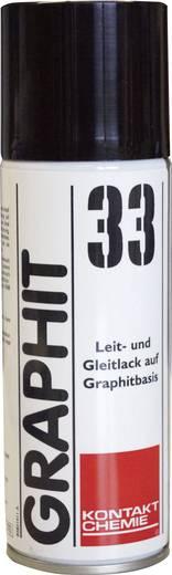 Grafitlakk spray gumi billentyűzet javításához 400 ml CRC Kontakt Chemie GRAPHIT 33