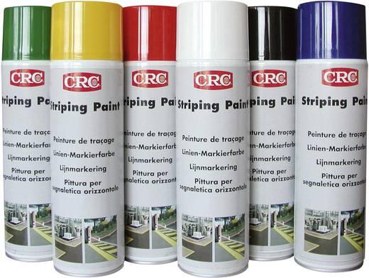 CRC jelölő festék, kül és beltéri útfesték, padlójelölő festék, fekete színű 500 ml 11673-AA