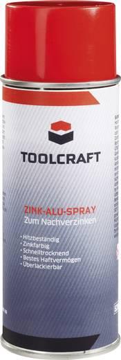 Cink-Alu spray, rozsdavédő galvanizáló felület felújító spray 400 ml Toolcraft 886529