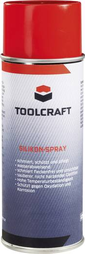 Szilikon spray 400 ml Toolcraft