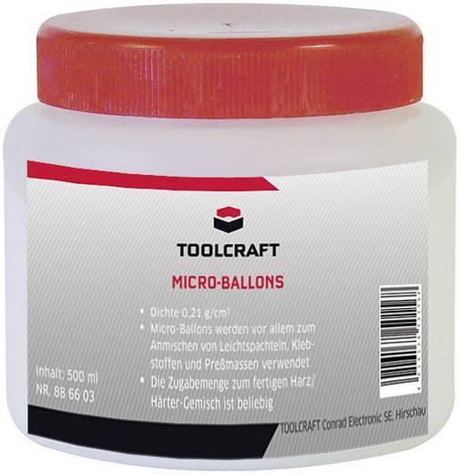TOOLCRAFT 240044 Mikroballonok, TOOLCRAFT 500 ml