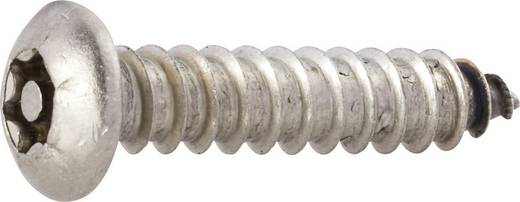 Biztonsági csavarok lencsefejjel, DIN 7981, 13 mm, nemesacél, rozsdamentes, 4,2 mm, 10 db, TOOLCRAFT