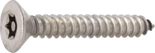Biztonsági csavarok süllyesztett fejjel, DIN 7982, 25 mm, nemesacél, rozsdamentes, 3,5 mm, 10 db, TOOLCRAFT