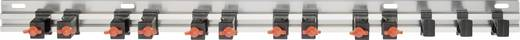 Fali szerszámtartó léc, szerszámtároló alumínium léc Toolcraft 887425