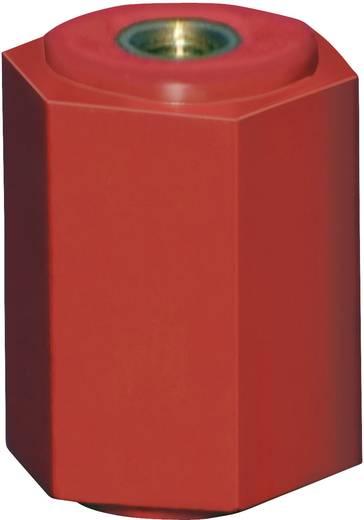 Támszigetelő - hatlapú teljes hosszban M6 - laptáv 20 25 mm Poliészter, üvegszál töltéssel M6 1 db