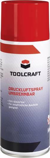 Sűrített levegő spray, nem gyúlékony, 400 ml, 24 db, TOOLCRAFT 893921