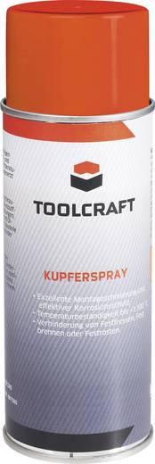 Vörösréz spray 400ml, TOOLCRAFT AKUS.D400