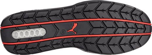 Biztonsági félcipő, S1P, 43, fekete/piros, PUMA